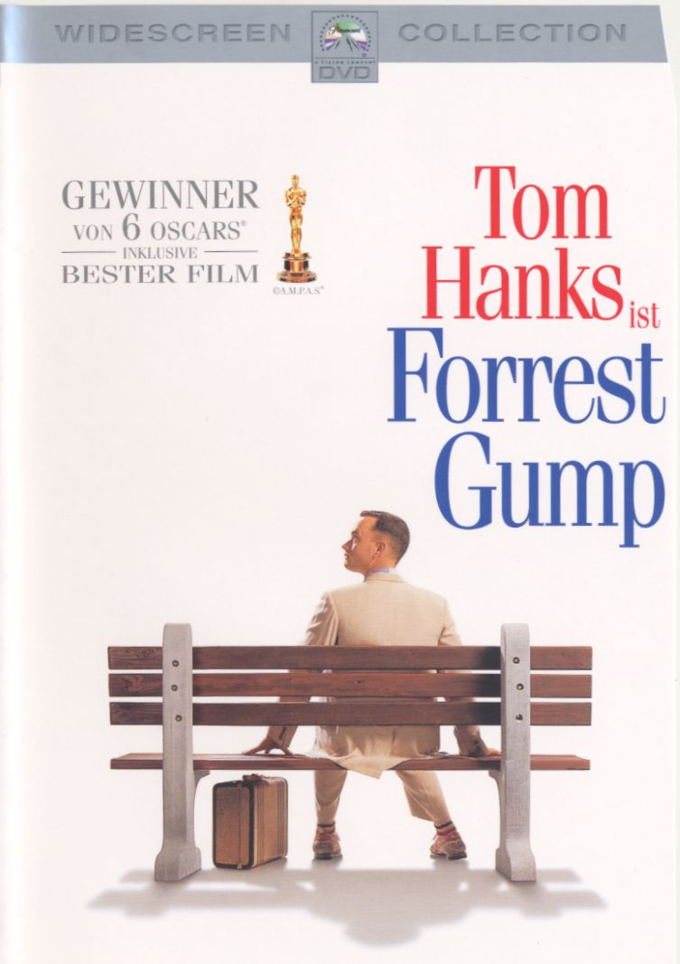 F Cover 						            Forrest Gump