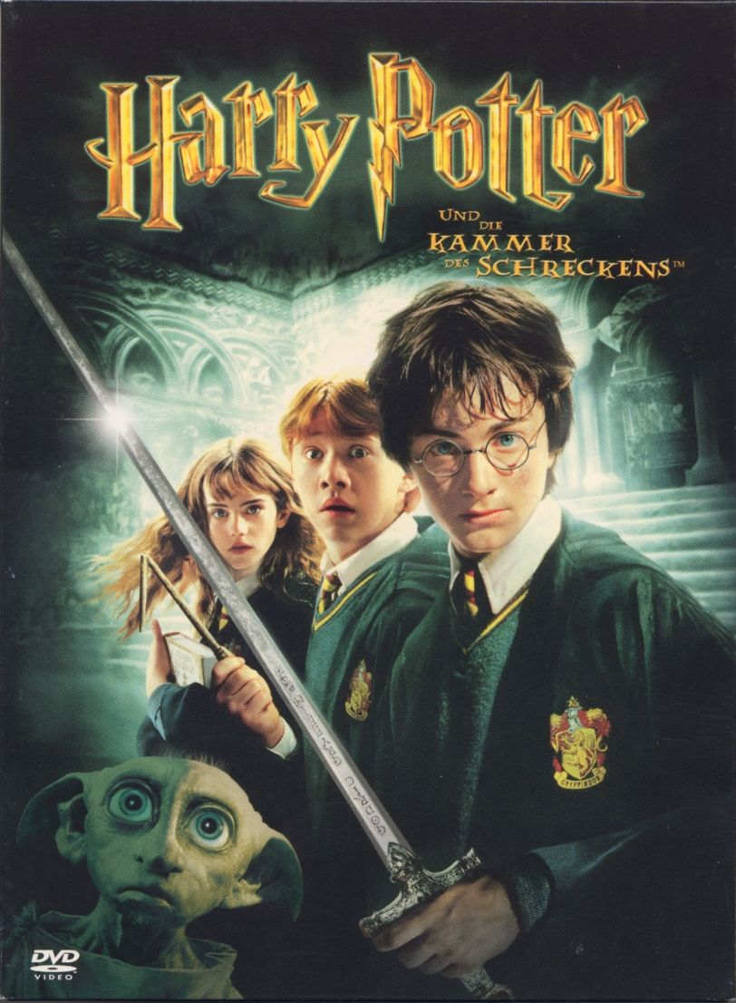 H Cover 						            Harry Potter 2
